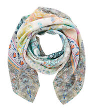 new CAMILLA FRANKS SILK SWAROVSKI MY DUBAI DREAM LARGE SQUARE SCARF .
