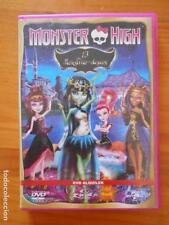 DVD MONSTER HIGH - 13 MONSTRUO-DESEOS - EDICION DE ALQUILER (A7)