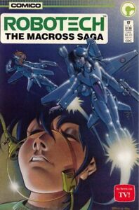 ROBOTECH THE MACROSS SAGA #17 (1987) VF/NM, Comico Comics