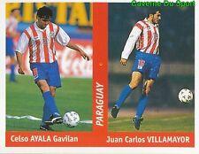 175 CELSO AYALA - VILLAMAYOR PARAGUAY FIGURINE STICKER WORLD CUP FRANCE 98 DS
