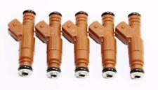 Fuel Injectors for Volvo 98-07 V70/99-04 C70/01-09 S60 2.4L/2.5L I5 5 Pieces