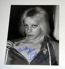 The Runaways Singer Cherie Currie Signed Autographed 8x10 Photo Tattoo With Love