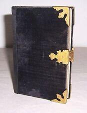 Canto libro protestante-lutherische país iglesia Reino de Sajonia 1883 encuadernacion