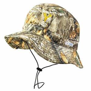 BUILTCOOL Men's Camo Bucket & Boonie Hat