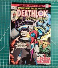 Astonishing Tales #33 (1976) 1st App Hellinger (Deathlok Creator)! Marvel VF-