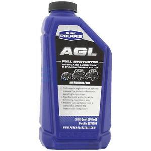 Polaris AGL Plus Synthetic Gearcase Oil Lube Lubricant/Transmission Fluid Quart