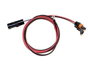 TPI TBI 4 Wire Heated Oxygen O2 Sensor Wire Harness Adapter Camaro Corvette Iroc