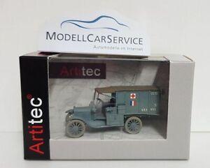 """Artitec 1/87: 6870309 Ford Model T Ambulance """"Armée de terre"""" (Frankreich) WK I"""