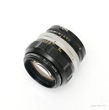 Nikon Nikkor-H 85mm f1.8  non-AI Lens (710-7)