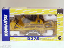 "Komatsu D375A Dozer w/ Ripper - ""YELLOW"" 1/50 - First Gear #50-0216 - MIB"