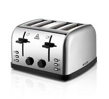 Maxim KPT4S 4 Slice Wide-Slot Toaster - Silver
