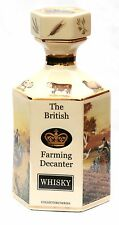 Farming Tractor Whisky Decanter Pointer of London FE35 & Fordson E27N Gift Boxed