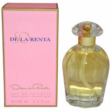 SO DE LA RENTA BY OSCAR DE LA RENTA-WOMEN-EDT-SPRAY-3.3 OZ-100 ML-MADE IN USA