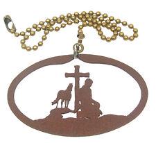 Praying Cowboy Fan Pull - Ornament