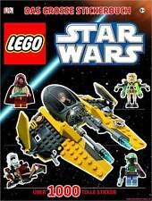 Fachbuch LEGO® Star Wars™, Das große Stickerbuch, Droiden und Raumschiffe, NEU