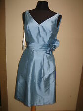 148 ALFRED ANGELO FRENCH FORMAL BRIDESMAID PARTY BLUE DRESS SIZE 10 NEW