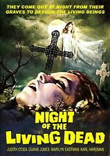 Night Of The Living Dead (1968) (DVD) Directed by George Romero Cult Classic