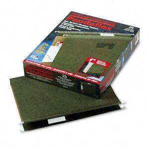 "Lot of 3 - Pendaflex® Reinforced 1"" Extra Capacity Hanging Folders, Letter,"