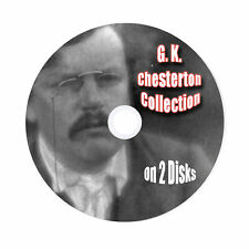 G. K. Chesterton Collection, 31 AudioBooks On 2 Disks