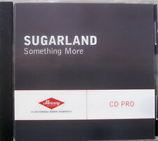 Sugarland - SOMETHING MORE [2004] Promo CD Single - NM