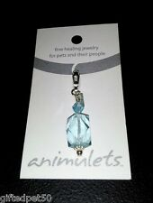 Aqua Quartz Animulet ~ Fine Healing Jewelry for Pets