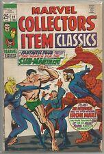 Marvel Collectors' Item Classics #19 Fantastic Four Reprints 1969 Comic FN+/VF-
