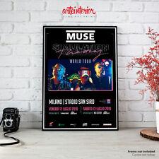 Muse | Poster Concerto Milano 12-13 Luglio 2019 San Siro - Manifesto Locandina