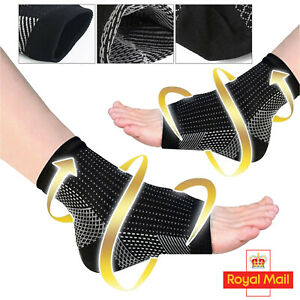 2X Plantar Fasciitis Socks Medical Compression Foot Arch Supports Pain Relief UK