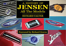 JENSEN BOOK INTERCEPTOR CALVER ALL MODELS HISTORY OF RICHARD CV8 FF GT III SP