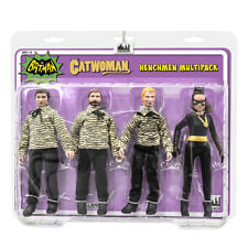 Batman Classic TV Figures: The Catwoman {Eartha}  and 3 Henchman Figures 4 Pack