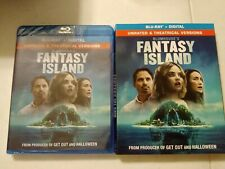 Blumhouse's Fantasy Island Bluray Like New Includes Slipcover NO DVD NO DIGITAL