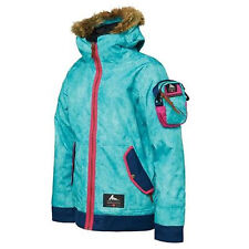686 Limited Gregory Classic Bomber Snowboard Jacket (M) Turquoise