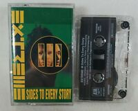 "1992 Extreme ""III Sides to Every Story"" Audio Cassette Tape A&M Records See Pics"