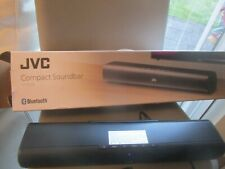 JVC TH-D227B Compact Sound Bar –please see listing No box/remote as misplaced