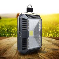 USB Rechargable/Solar LED COB Work Light 5W LED Lantern Tent Light Flashlights