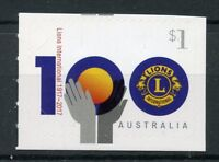 Australia 2017 MNH Lions Club International 100th Anniv 1v S/A Set Stamps