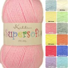 Cygnet Kiddies Supersoft DK Baby Knitting Yarn 100g - Full Range of Shades