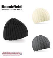 Beechfield Unisexe Tricot Épais Chapeau Bonnet Hiver