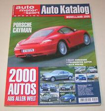 Autokatalog Modelljahr 2006 - Nr. 49!