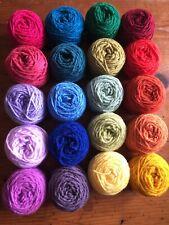 Acrylic Wool Job Lot Stylecraft Mixed Bundle 20 Balls King Cole Rainbow Dk Pack
