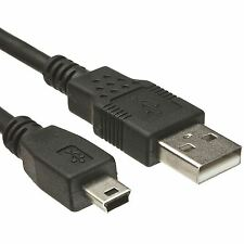 10 Pcs Blk 3FT 2.0 USB Cable Type A to Mini B Male for Camera and External Drive