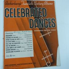 piano ASCHBERGER's CELEBRATED DANCES
