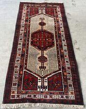 Tapis Persans Irân 220x106cm zanjan Irann Teppiche Rugs Carpet Tappeto Alfomb