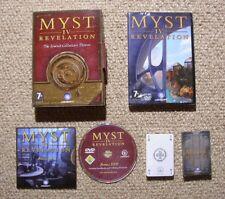 Myst IV Revelation Collector's Edition - PC / MAC Adventure Game
