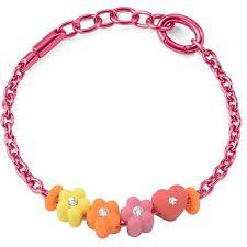 Bracciale Morellato Collez.Drops Colours art.SABZ165 Alluminio rosa 4 charms