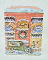 Planters Peanuts - Mr. Peanut Holiday Village Collectible Decorative Tin - 2000