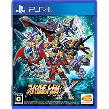 Bandai Namco Super Robot Taisen X SONY PS4 PLAYSTATION 4 JAPANESE VERSION