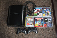 Sony PlayStation 3 40GB Piano Black Spielekonsole (PAL - CECH-G04)