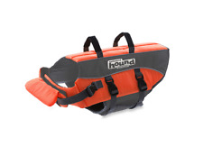 Ripstop Adjustable Preserver Life Jacket Saver for Pet Dogs in Small Orange