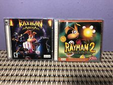 PC Windows Rayman 2: The Great Escape & Rayman Arena Pc Games.